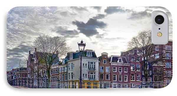 IPhone Case featuring the photograph Amsterdam Bridges by Frans Blok