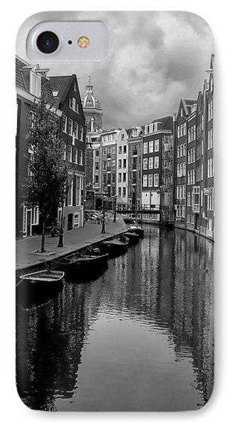 Amsterdam Canal Phone Case by Heather Applegate