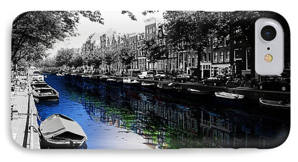 Amsterdam Colorsplash IPhone Case by Nicklas Gustafsson