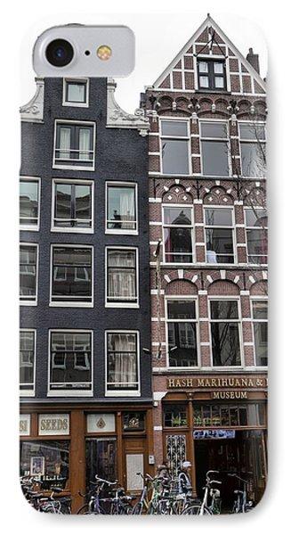 Amsterdam Hash Museum IPhone Case