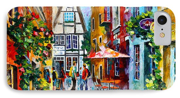 Amsterdam Street Phone Case by Leonid Afremov