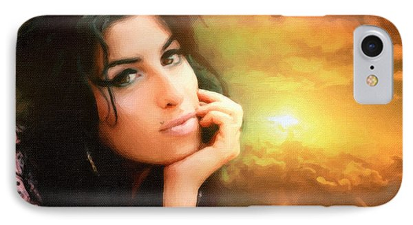 Amy Winehouse Phone Case by Anthony Caruso
