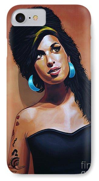 Amy Winehouse IPhone Case by Paul Meijering