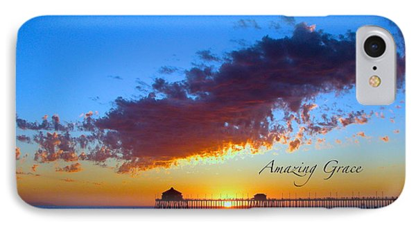 IPhone Case featuring the photograph Amzing Grace 7 by Margie Amberge