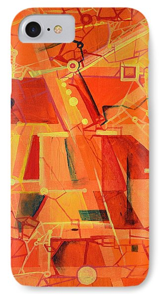 An Acoustic Perspective IPhone Case by Regina Valluzzi