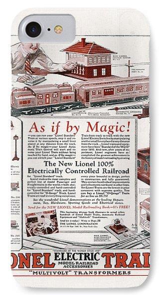 Model Railroad iPhone 7 Cases   Fine Art America