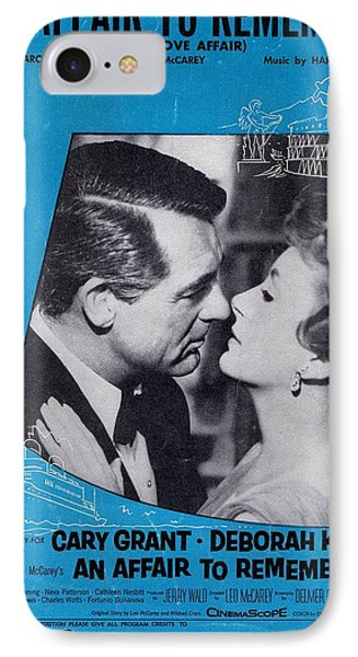 An Affair To Remember Phone Case by Mel Thompson