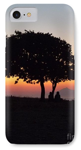 An African Sunset IPhone Case by Vicki Spindler