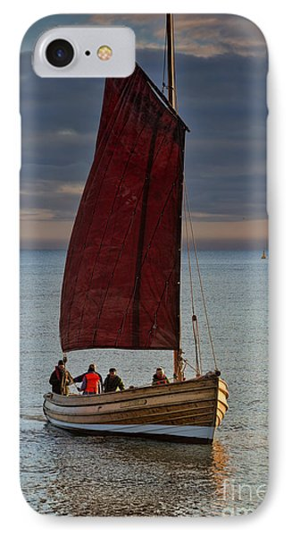 An Afternoon's Sail IPhone Case by David  Hollingworth