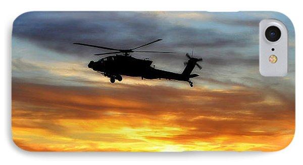 An Ah-64 Apache Phone Case by Paul Fearn