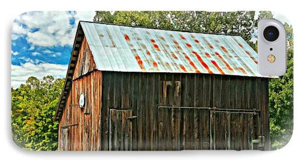 An American Barn 2 Oil Phone Case by Steve Harrington