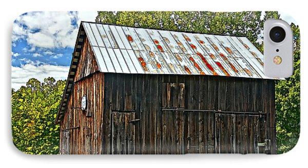An American Barn 2 Painted Phone Case by Steve Harrington