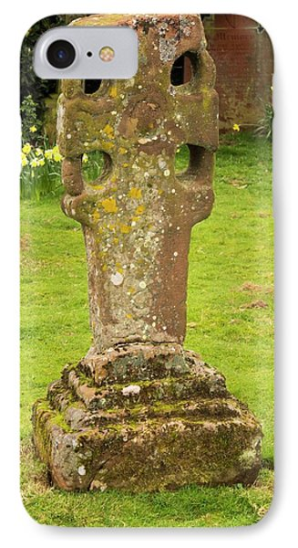 An Ancient Stone Cross IPhone Case