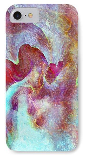 An Angels Love IPhone Case by Linda Sannuti