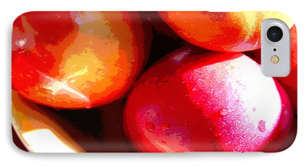 An Apple A Day Phone Case by Ginny Schmidt