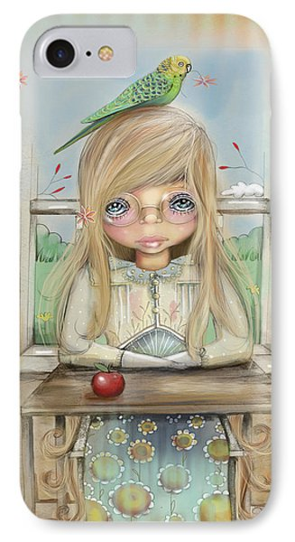 An Apple A Day IPhone Case by Karin Taylor
