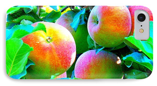 An Apple A Day Phone Case by Kay Gilley