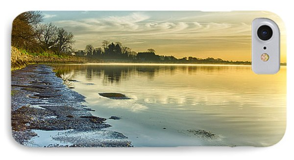 An April Morning On The Estuary  IPhone Case by Martina Fagan