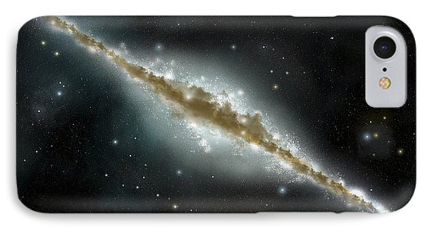 An Artists Depiction Of A Large Spiral IPhone Case