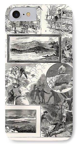 An Ascent Of Mount Wellington Tasmania 1. Mount Wellington IPhone Case by English School
