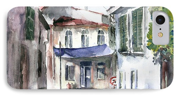 An Authentic Street In Urla - Izmir IPhone Case by Faruk Koksal
