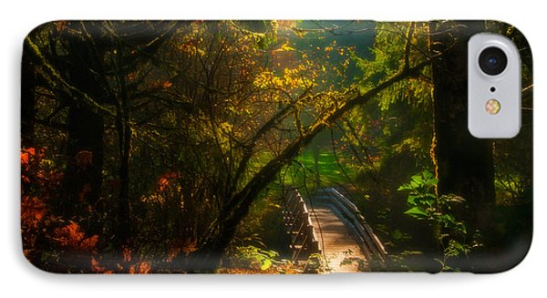 An Autumn Day At Silver Falls State Park IPhone Case