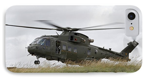 An Aw101 Merlin Helicopter Of The Royal Phone Case by Ofer Zidon