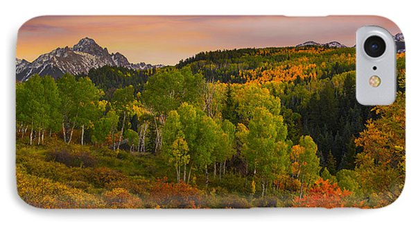 An Early Fall Morning IPhone Case by Tim Reaves