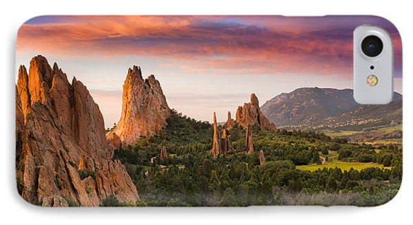 An Early Summer Morning IPhone Case by Tim Reaves