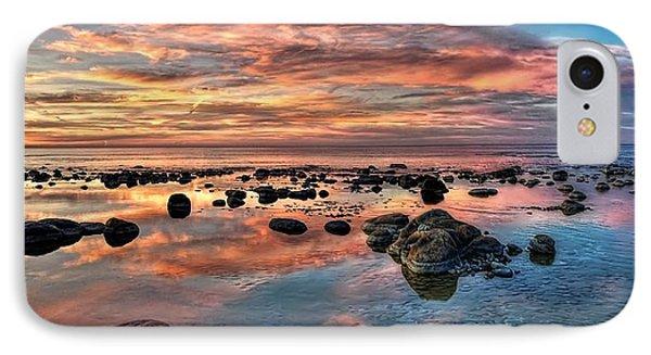 An Evening At The Beach IPhone Case