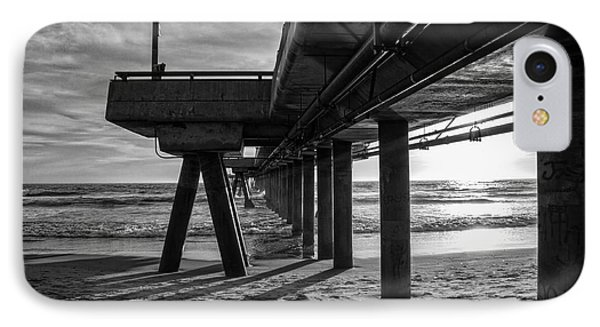 An Evening At Venice Beach Pier IPhone 7 Case by Ana V Ramirez