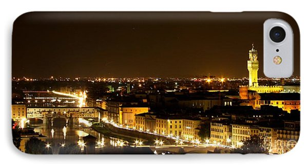 An Evening In Florence  IPhone Case by Sergio B
