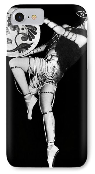 An Exotic Russian Dancer Phone Case by Underwood Archives