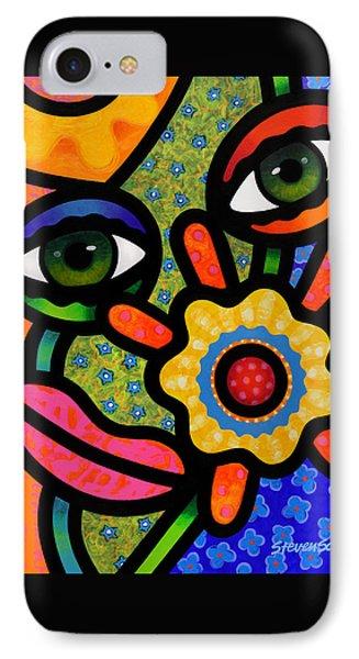 An Eye On Spring IPhone Case by Steven Scott