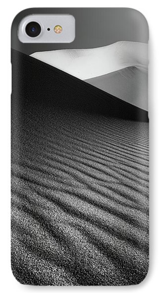 An Ice Hill In Desert ! IPhone Case