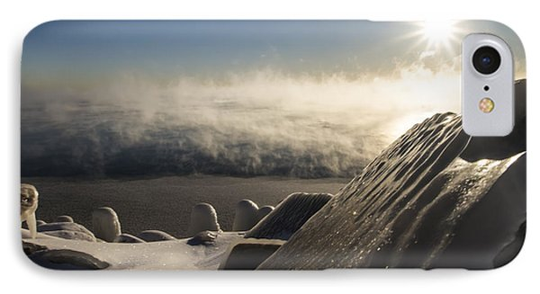 An Icy Scene In The Morning Sun IPhone Case by Sven Brogren