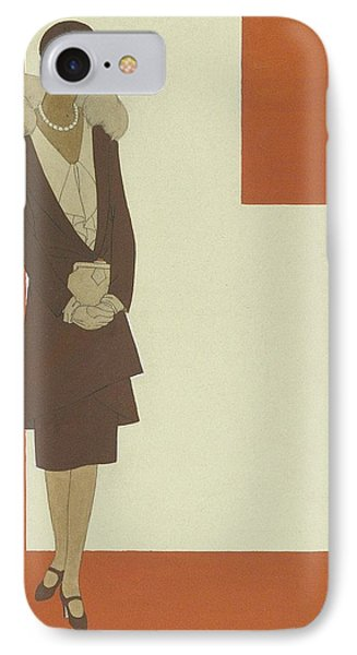 An Illustration For Pattern Book IPhone Case by Polly Tigue Francis