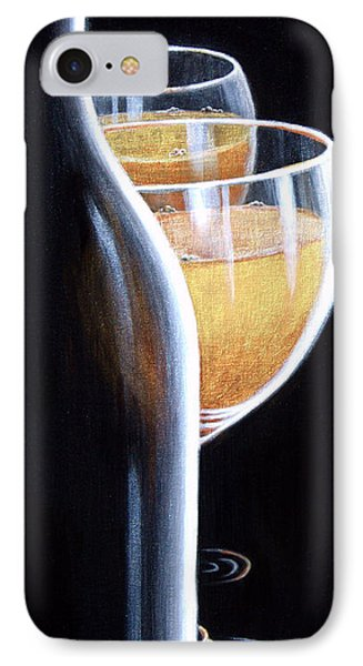 IPhone Case featuring the painting An Indecent Proposal by Sandi Whetzel