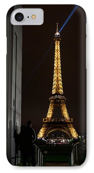 An Intimate Moment With Eiffel Phone Case by John Daly