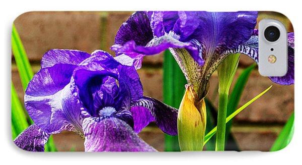 An Iris Blessing IPhone Case by Jon Woodhams