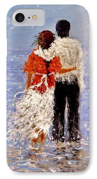An Ocean Of Love.. IPhone Case by Cristina Mihailescu