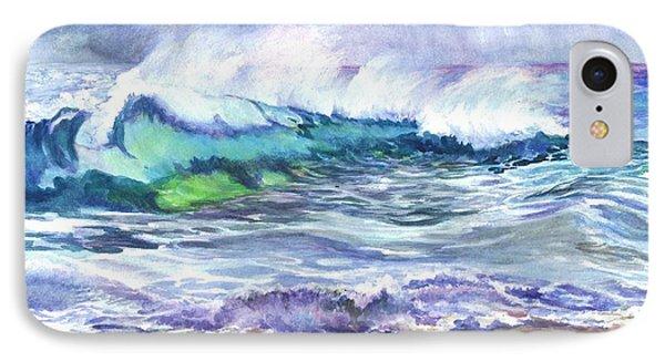 An Ode To The Sea Phone Case by Carol Wisniewski