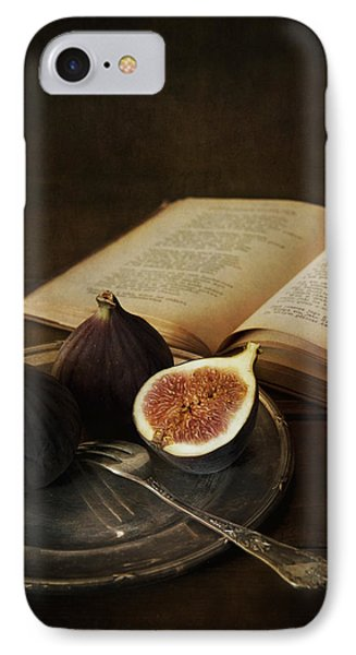An Old Books And Fresh Figs IPhone Case