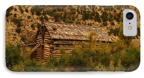 An Old Cabin In Utah Phone Case by Jeff Swan