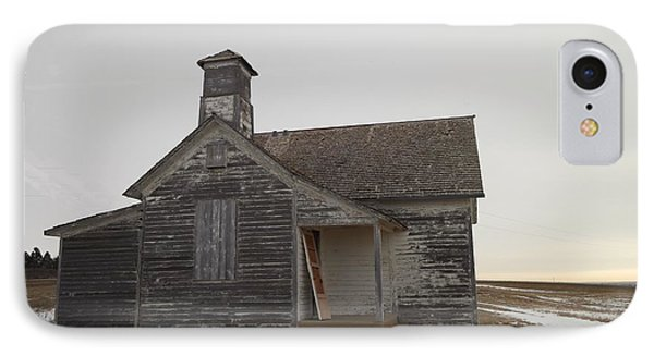 An Old Church On The Prairie  Phone Case by Jeff Swan