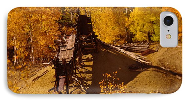 An Old Colorado Mine In Autumn Phone Case by Jeff Swan