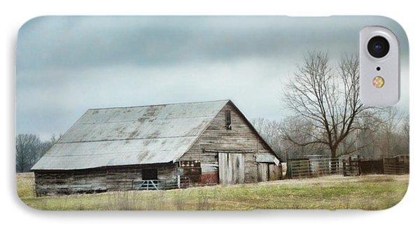 An Old Gray Barn IPhone Case by Jai Johnson