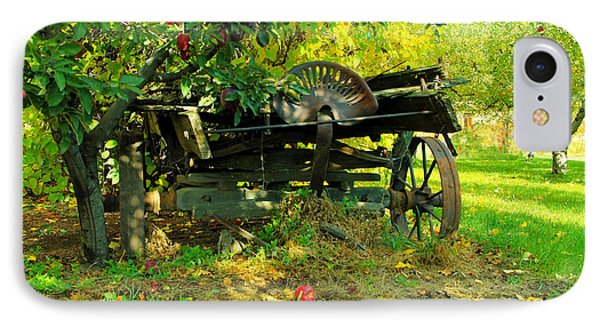 An Old Harvest Wagon Phone Case by Jeff Swan