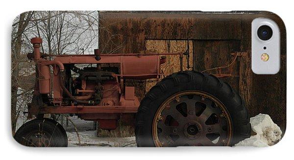 An Old John Deer Phone Case by Jeff Swan