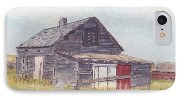 An Old Memory Home In The Grand Prairies IPhone Case